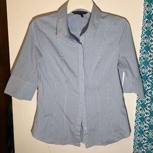 White House black market dress shirt sz 12